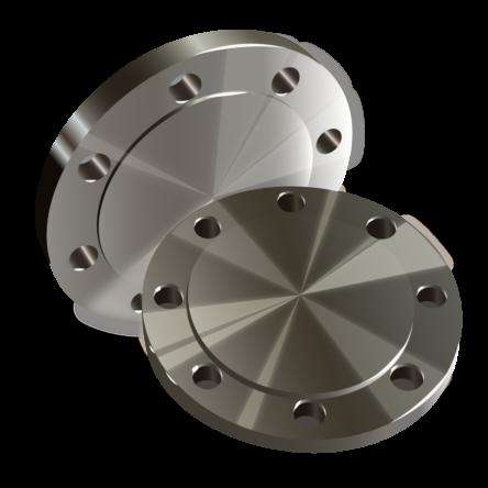 Заглушка фланцевая 4-400-160 сталь 09Г2С